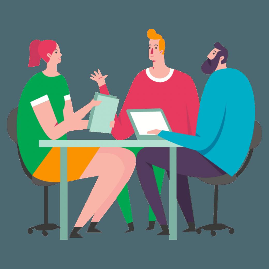 De gesprekkencyclus. Twee maal per jaar de vinger aan de pols